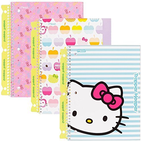 hello-kitty-trapper-keeper-notebooks-with-snapper-trapper-by-mead-1-subject-wide-ruled-3-pack-73467-