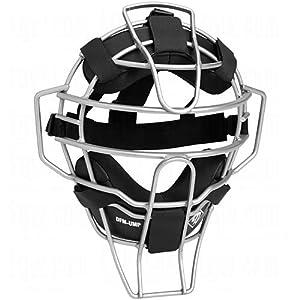 Diamond Sports iX3 Ultra-Lite Umpire Face Mask, Pewter Grey