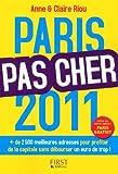 echange, troc Anne Riou, Claire Riou - Paris pas cher 2011