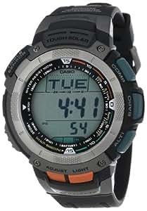 Casio Men's PAG80-1V Pathfinder Altimeter/Barometer/ Digital Compass Solar Digital Watch