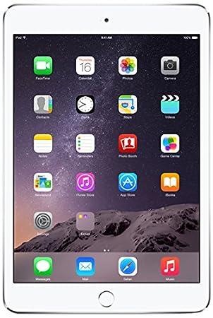 Apple - iPad mini 3 Wi-Fi 16GB Argent - MGNV2B/A