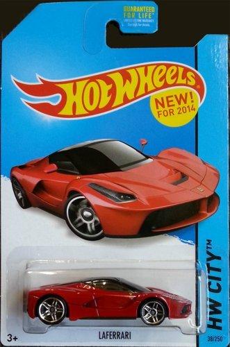 2014 Hot Wheels Ferrari LaFerrari SILVER