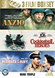 Anzio/Cockleshell Heroes/Hellcats of the Navy [DVD]