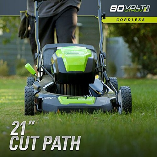 Murray Lawn Mowers Battery : Greenworks pro v