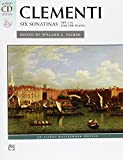 Clementi: Six Sonatinas, opus 36 (Book & CD) (Alfred CD Edition)