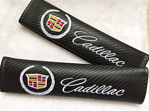 benzee-2pcs-cadillac-carbon-fiber-car-seat-belt-shoulders-pad-truck-cover-for-ats-cts-ext-srx-xts-xl