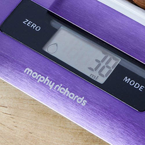 Electronic Kitchen Scale Plum