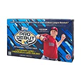 2017 Topps Pro Debut Baseball Hobby Box (24 Packs of 8 Cards: 2 Autographs and 2 Relics)
