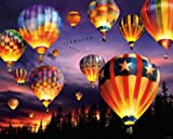White Mountain Puzzles Balloons Aglow