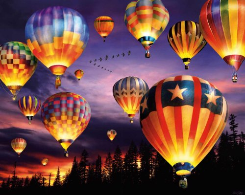51m%2BtQjMIrL Reviews White Mountain Puzzles Balloons Aglow