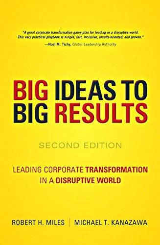 BIG Ideas to BIG Results:Leading Corporate Transformation in a        Disruptive World