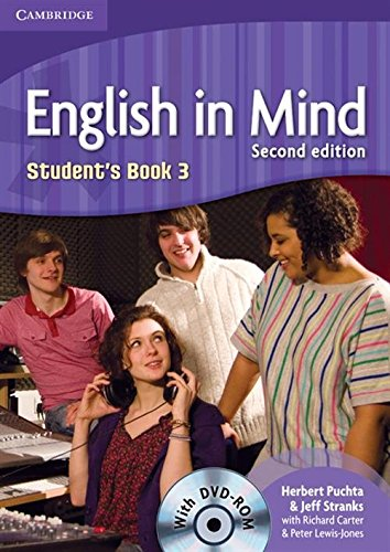 English in Mind 2nd  3 Student's Book with DVD-ROM