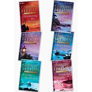 Christine Feehan, Die Drake Schwestern, Band 1,2,3,4,5,6,7 in 6 Bänden (Die Drake-Schwest