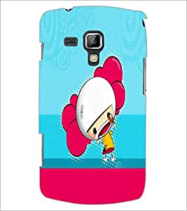 PrintDhaba Cartoon D-5866 Back Case Cover for SAMSUNG GALAXY S DUOS 2 S7582 (Multi-Coloured)