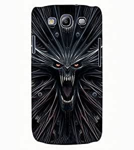 ColourCraft Scary Image Design Back Case Cover for SAMSUNG GALAXY S3 NEO I9300I