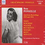 img - for AMERICAN RECORDINGS 1939-1954 by ROSA PONSELLE [Korean Imported] (2008) book / textbook / text book