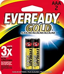 ENERGIZER AAA2 EVEREADY AAA Alkaline Battery