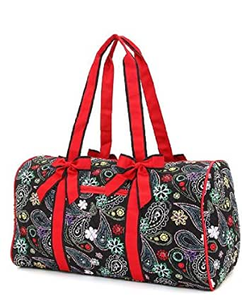 Amazon.com: Belvah Quilted Multi Paisley Pattern 21