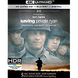 Saving Private Ryan [4K Ultra HD + Blu-ray]