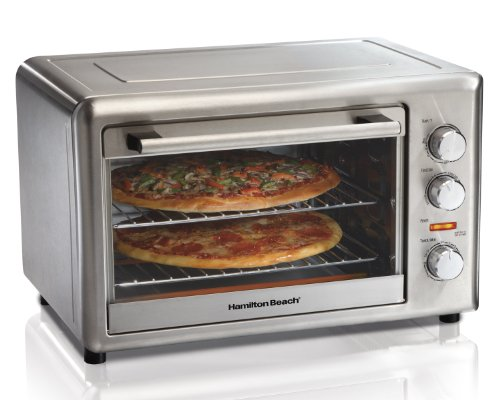Hamilton Beach 31103A Countertop Oven with Convection and Rotisserie (Pizza Oven Small compare prices)