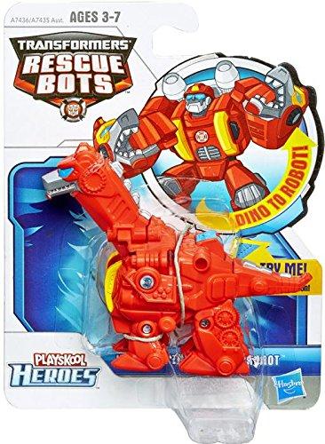 Playskool Transformers Rescue Bots Heatwave The Rescue Dinobot Figure front-967254