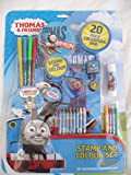 Thomas the Tank Engine Stamp and Colour Set