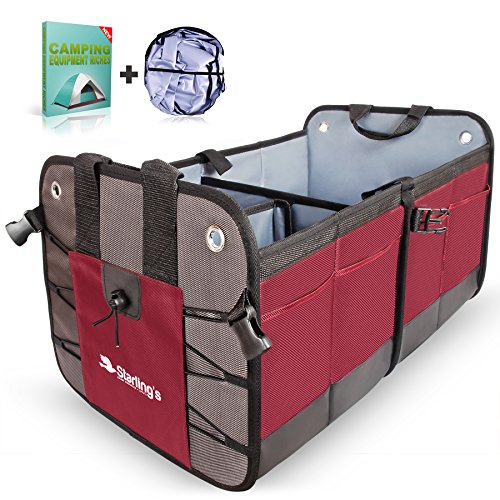 Starling's Car Trunk Organizer with Car Sunshade