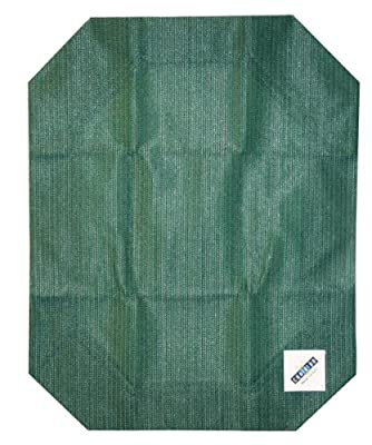 Coolaroo Elevated Pet Bed Replacement Cover, Green