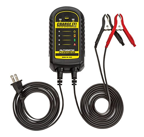 CHARGE IT! 4502 Black 6/12 Volt 2.5 Amp Battery Maintainer