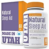 Natural Sleep Aid Is An All-Natural Sleep Formula That Combines Melatonin, Valerian Root And Non-Addictive Extracts Into the Best 100% Safe Sleeping Pill That Will Allow You To Get a Full Night's Rest