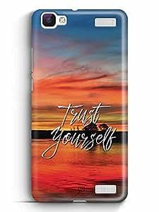 YuBingo Trust Yourself Designer Mobile Case Back Cover for Vivo V1 Max