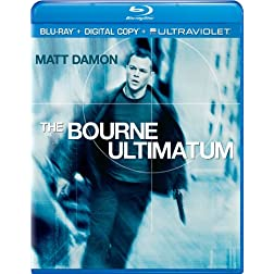 The Bourne Ultimatum (Blu-ray + Digital Copy + UltraViolet)