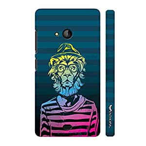 Nokia Lumia 540 Be A Man! designer mobile hard shell case by Enthopia