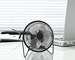 Quiet Light Weight USB Mini Table Desk Personal Cooling Fan Free Angle Adjustment