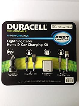 Duracell 3.1 Amp Lightning Cable Charging Kit
