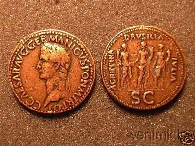 (DD R 26) Caligula Sestertius COPY