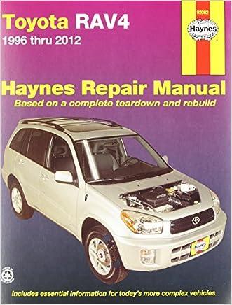 Toyota RAV4 1996-2012 Repair Manual (Haynes Repair Manual)