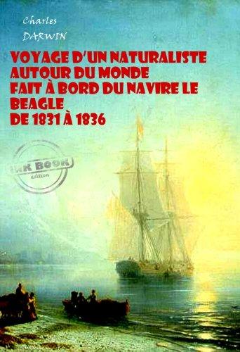 Couverture du livre Voyage d'un naturaliste autour du monde fait à bord du navire le Beagle de 1831 à 1836