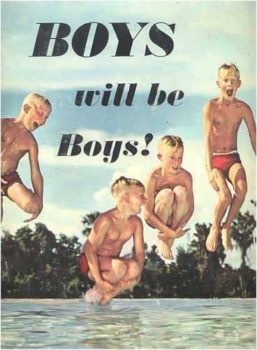 boys will be boys photographic essay