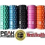 Peak Fitness Trigger Point Massage Foam Roller disponible dans le choix des...