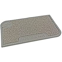 Clean Machine Wipe Your Paws 18-Inch by 30-Inch Doormat Slate