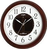 CITIZEN (シチズン) 掛け時計 エコライフM769 ソーラー 電波時計 4MY769-007