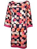 Jessica Howard Women's 3/4 Sleeve Printed Shift Dress