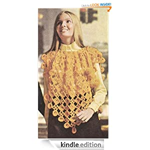 Lacy Poncho Crochet Pattern - Kindle edition by Hollywood Patterns