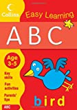 ABC Age 3-5: Book 1 (Collins Easy Learning Age 3-5) Collins Easy Learning
