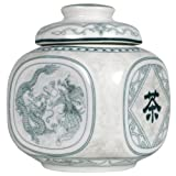Dragon and Phoenix Tea Canister