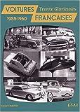 echange, troc Xavier Chauvin - Voitures françaises : 1955-1960