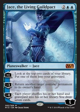 Magic: The Gathering - Jace, The Living Guildpact (062/269) - Magic 2015 front-456246