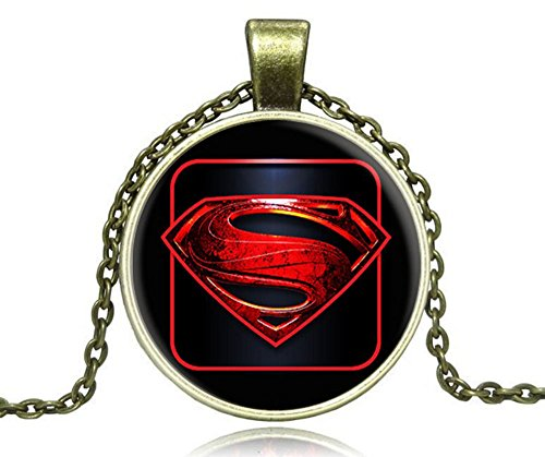 tian-qi-hot-jewelry-vintage-diamond-alloy-hero-superman-s-time-gem-necklace-short-paragraph-yellow