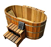Hot Sale Ofuro Japanese soaking hot tub - 2 person wooden tub